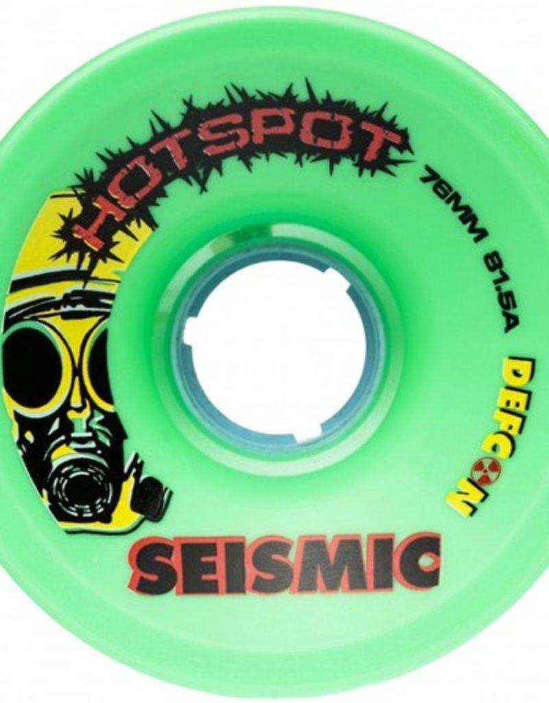 Seismic Seismic- Hot Spot- 76mm- 81.5a- Mint- Wheels