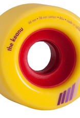 Orangatang Orangatang- The Keanu- 66mm- 86a- Yellow- Wheel