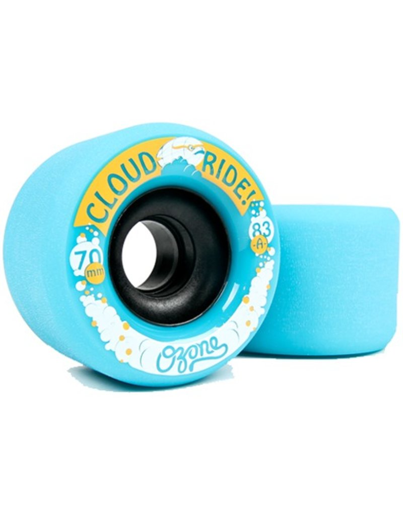 Cloud Ride Cloud Ride- Ozone- 70mm- 83a- Cyan- Wheel