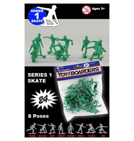 Toy Boarders Toy Boarders- Skate Figures- Toy- Series 1- 24 pieces