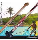 Kahuna Creations Kahuna- Big Stick- Classic Wooden- 5 foot- Street Paddle