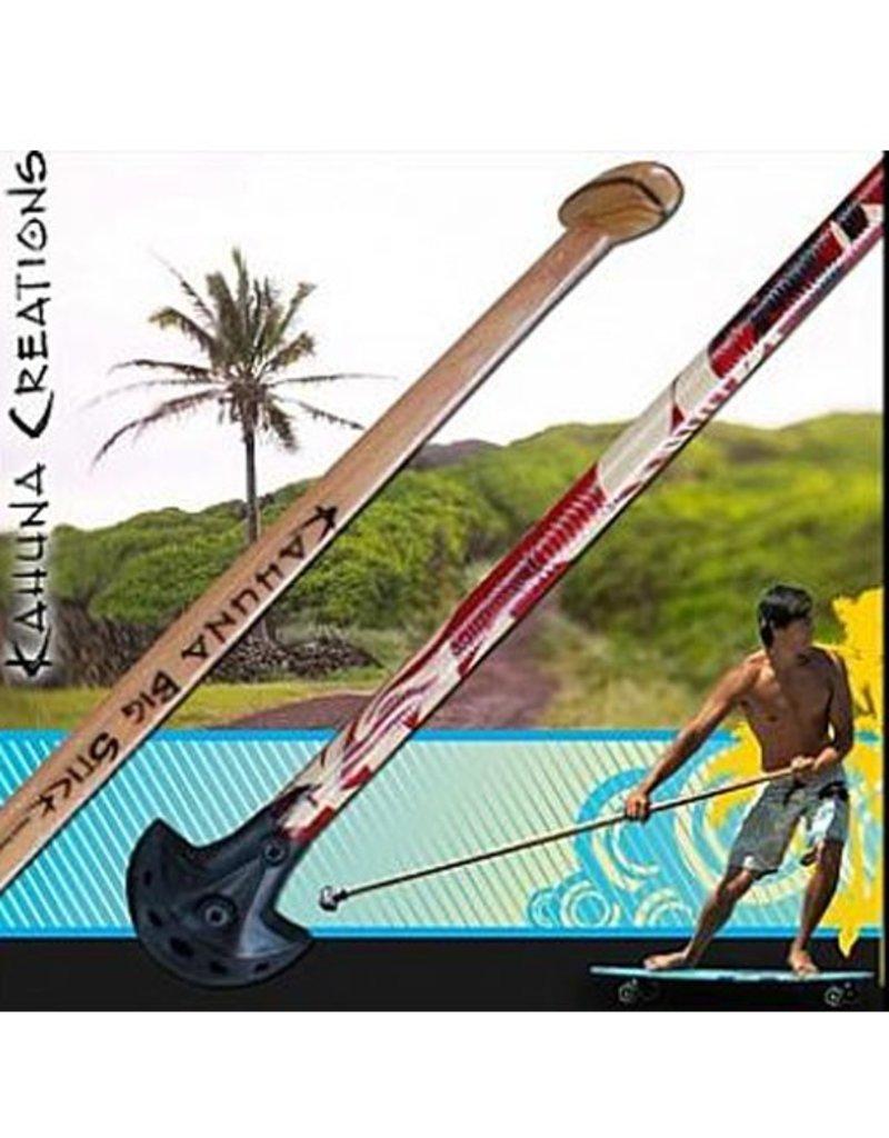 Kahuna Creations Kahuna- Big Stick- Classic Wooden- 5 foot- Street Paddle