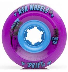 Never Summer Never Summer- Drift- Wheel- 70mm- Purple, 75a