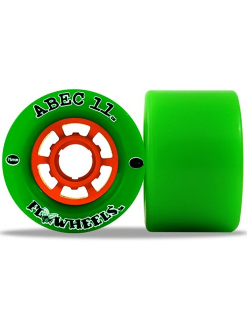 ABEC 11 ABEC 11- Flywheels- Wheel- 76mm, Green, 81a