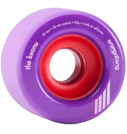 Orangatang Orangatang- The Keanu- 66mm- 83a- Purple- Wheel