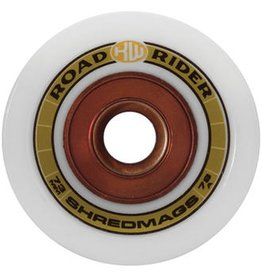 Road Rider Road Rider- Shred Mags- 73mm- 78a- White- Wheels