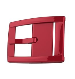 C4 C4- Classic Belt Buckle- Premium- Red Chrome- OSFA