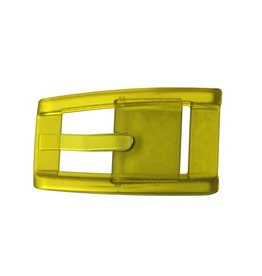 C4 C4- Skinny Belt Buckle- Yellow- OSFA