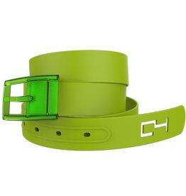 C4 C4- Classic Belt Set- Green Belt with Green Buckle- OSFA