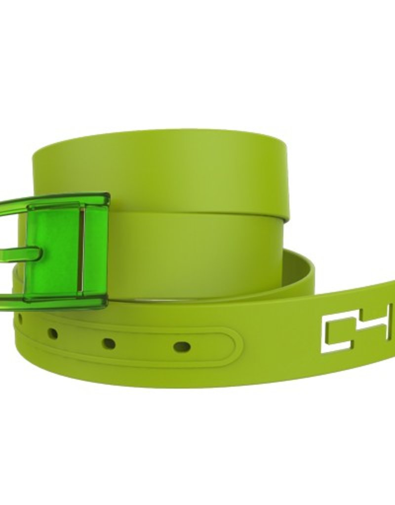 C4 C4- Classic Belt Set- Green Belt with Green Buckle- OSFA