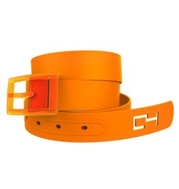 C4 C4- Classic Belt Set- Orange Belt with Orange Buckle- OSFA