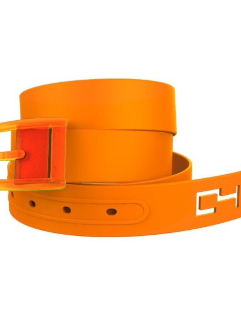 C4 C4- Classic Belt Set- Orange Belt with Orange Buckle- OSFA