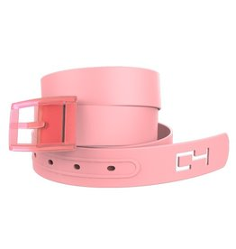 C4 C4- Classic Belt Set- Pink Belt with Pink Buckle- OSFA