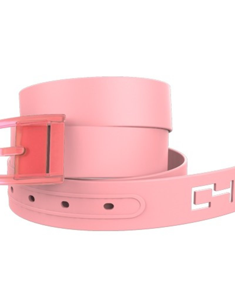C4 C4- Classic Belt Set- Pink Belt with Pink Buckle- OSFA