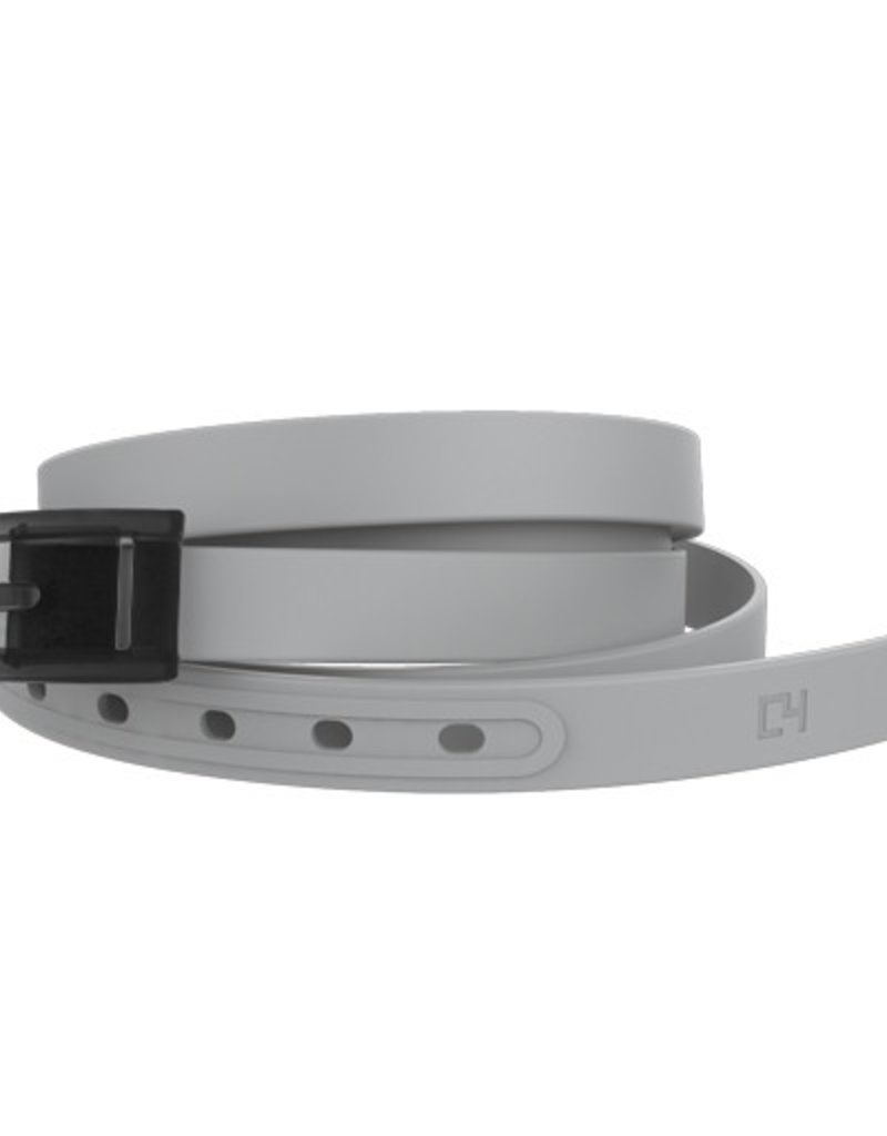 C4 C4- Skinny Belt Set- Grey Belt with Grey Buckle- OSFA