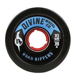 Divine Divine- Road Rippers- 70mm- 78a- Black- Wheel
