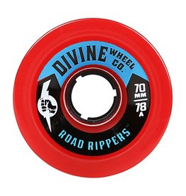 Divine Divine- Road Rippers- 70mm- 78a- Red- Wheel