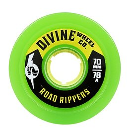 Divine Divine- Road Rippers- 70mm- 78a- Green- Wheel