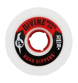 Divine Divine- Road Rippers- 70mm- 78a- White- Wheel