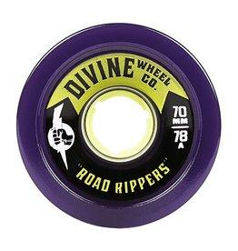 Divine Divine- Road Rippers- 70mm- 78a- Purple- Wheel