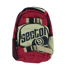 Sector 9 Sector 9- Pursuit- Red and Gold- Backpack