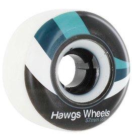 Landyachtz Landyachtz- Street Hawgs- 57mm- 99a- White- Wheels
