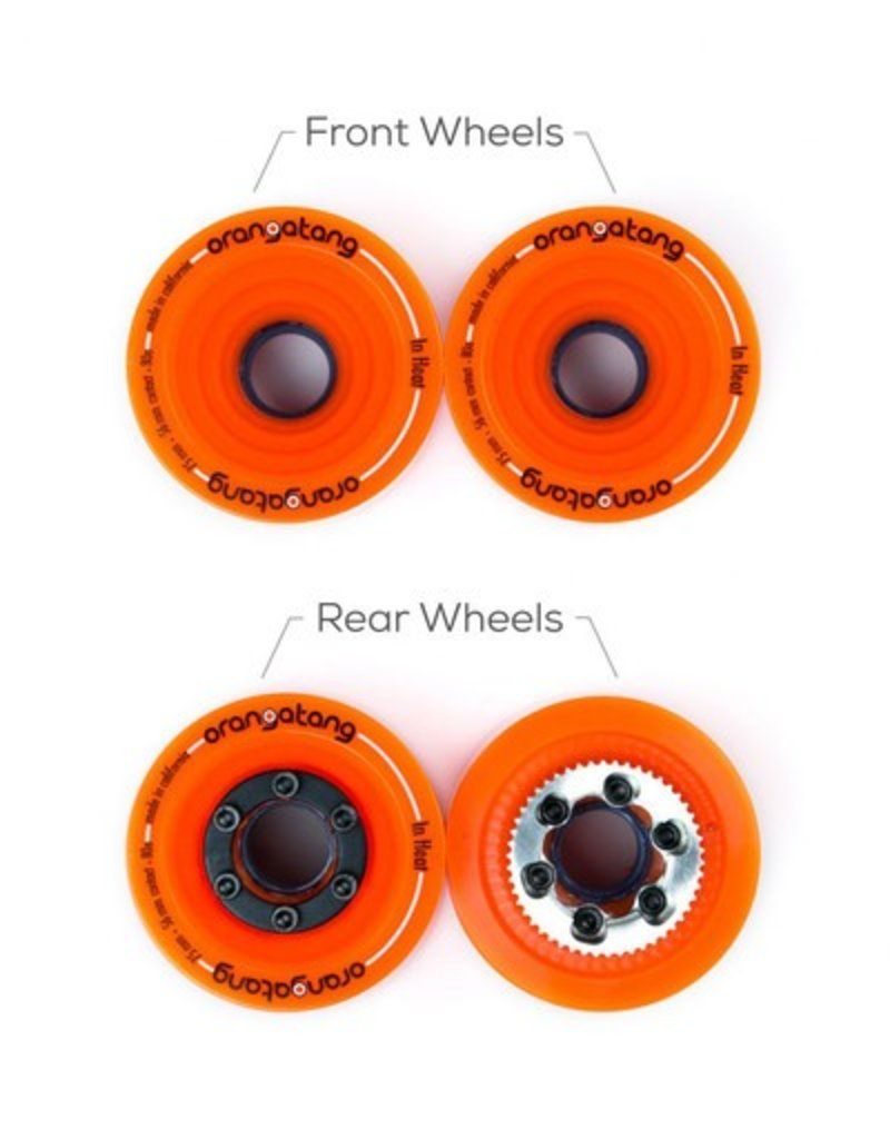 Boosted Boosted- Wheel- In Heat- 75mm- 80a- Replacement Wheels- Full Set