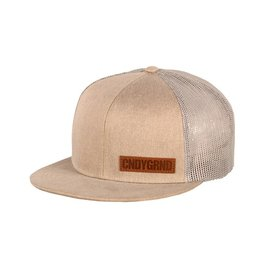 Candygrind Candygrind- Veteran Trucker- Sahara- One Size- Hat