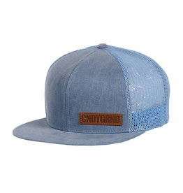 Candygrind Candygrind- Veteran Trucker- Light Grey- One Size- Hat