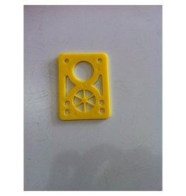 BOARDLife BOARDLife- Shock Pad- Hardish- Yellow- 1/8 inch- Set of 2- Riser