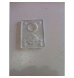 BOARDLife BOARDLife- Shock Pad- Clear- Soft- 1/8 inch- Riser