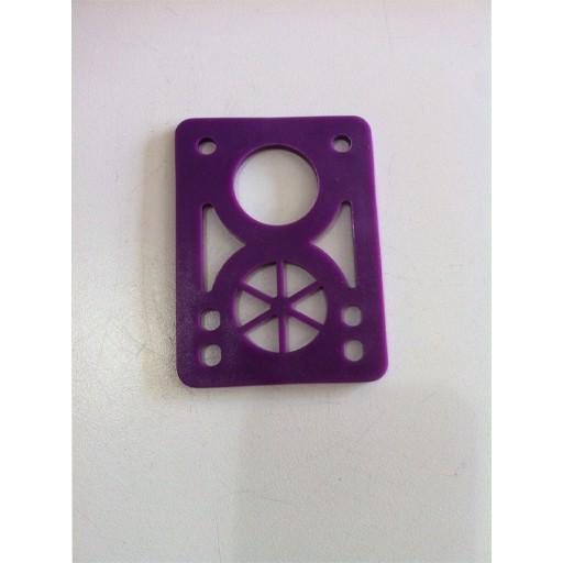 BOARDLife BOARDLife- Shock Pad- Hardish- Purple- 1/8 inch- Set of 2- Riser