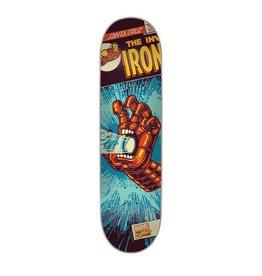 Santa Cruz Santa Cruz Skate- Marvel Iron Man Hand- 31.6 inches- 8- 2015- Deck