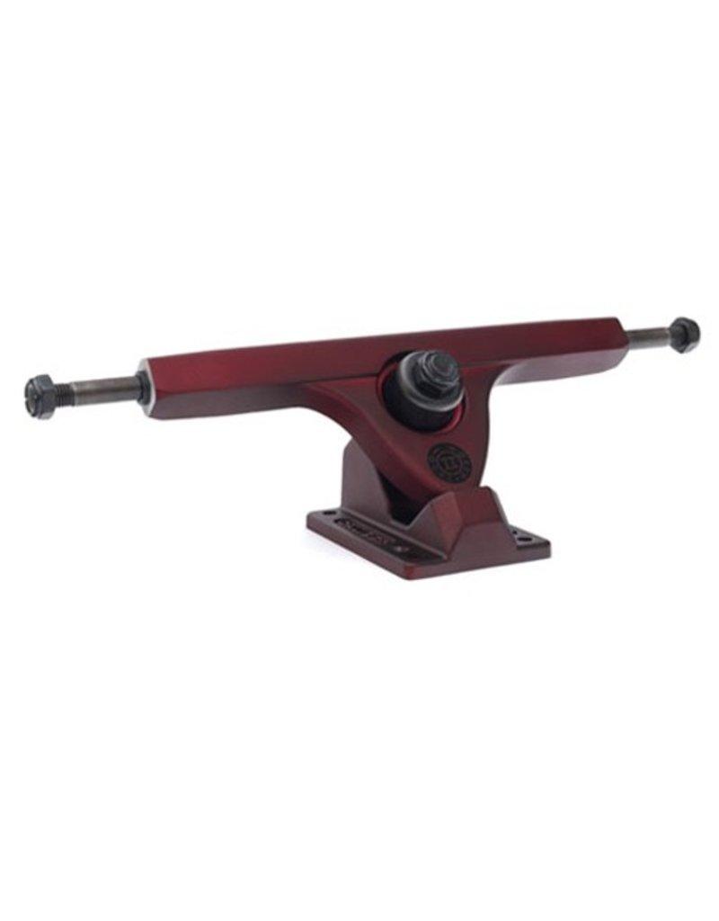 Caliber Caliber- Caliber II- RKP- 50 deg- Midnight Satin Red- 10 inch Axle- Trucks