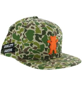 Grizzly Grizzly- Quality Goods- Adjustable- Green Camo- Hat