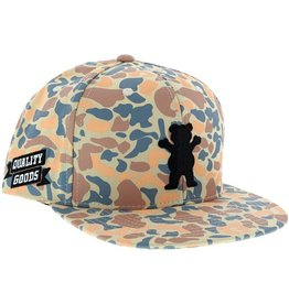 Grizzly Grizzly- Quality Goods- Adjustable- Tan Camo- Hat