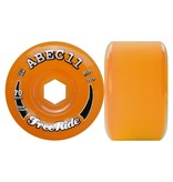 ABEC 11 ABEC 11- Freeride- 70mm- Amber- 81a- Wheel