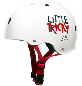 Triple Eight Triple Eight- Little Tricky- Dual Certified- EPS Liner- White- Youth- Helmet