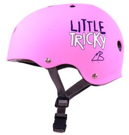 Triple Eight Triple Eight- Little Tricky- Dual Certified- EPS Liner- Pink- Youth- Helmet