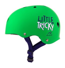 Triple Eight Triple Eight- Little Tricky- Dual Certified- EPS Liner- Green- Youth- Helmet