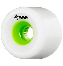 These These- FRF- 727- 70mm- 78a- White with Green Core- Wheel