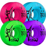 Bones Bones- Original Formula- 53mm- 100a- Party Pack- Pink, Blue, Green and Purple- Wheels