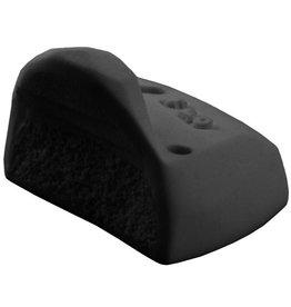 FLO- O.G. FLO- Black with Black Logo- Regular Foot- aka Batboard Black- Foot Stop