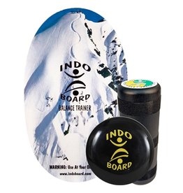 Indo Indo- Pro- With Roller- Snow Peak- 39.5 x 18 inch- Balance Board Kit