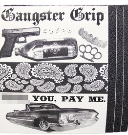 Gangster Grip Gangster- Black Grip Tape- 11 inch