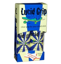 Lucid Grip Lucid- Lucid Grip- Spray Grip- Medium- Clear