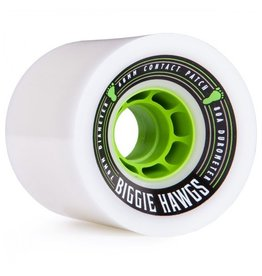 Landyachtz Landyachtz- Bigger Biggie Hawgs- 73mm- 80a- White- Wheels
