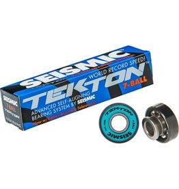 Seismic Seismic- Tekton- 7 Ball- Boxed set of 8- ABEC 7- Bearings