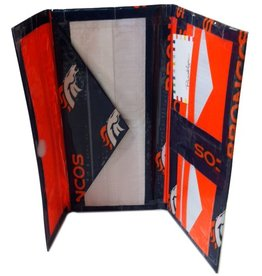 Tanlyn- Duct Tape Wallet- Broncos- Women's