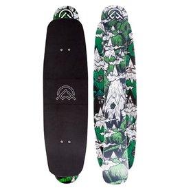 Landyachtz Landyachtz- Deluxe Snow Skate- Snowskate- 40 Ski- 33.5 Deck- Complete